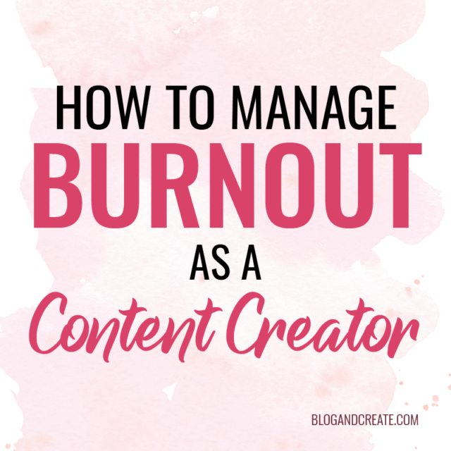 Dealing with Burnout – When Less is More