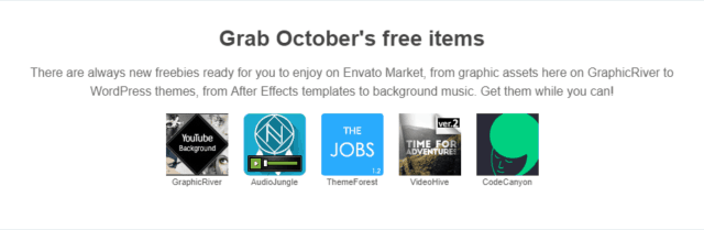 Envato Marketplace Free Items