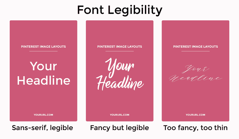 Best font types for readability