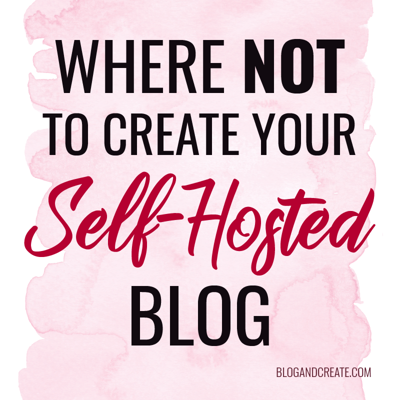 The Best (and Worst) Homes for Your Self-Hosted Blog